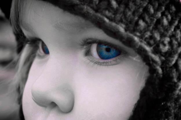Augen Kind
