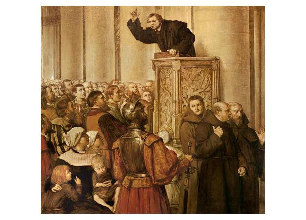 Luther-predigt-von-der-Kanzel