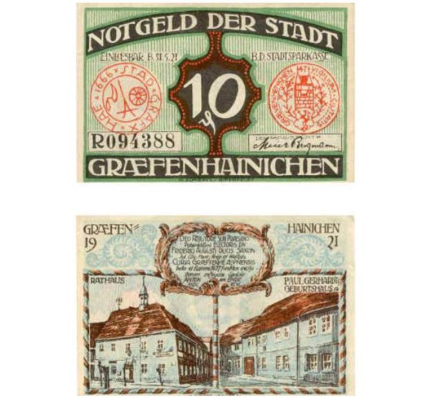 Notgeld-Graefenhainichen