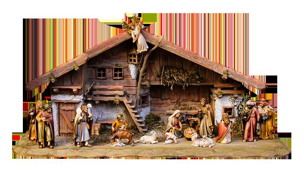 Krippe-Weihnachten