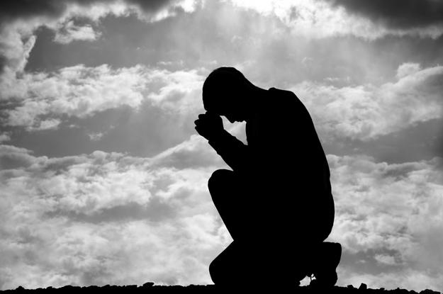 Gebetshaltung