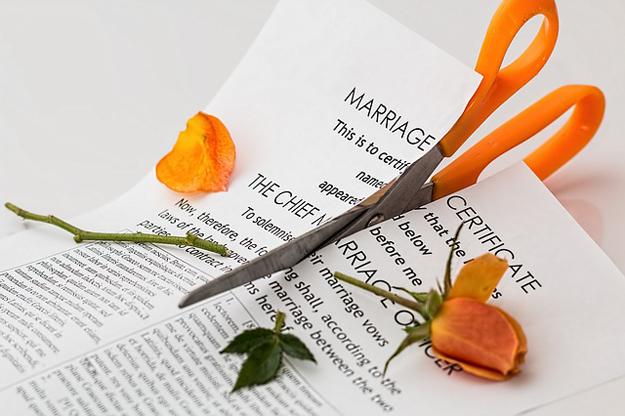 Ehe-Krise-Scheidung