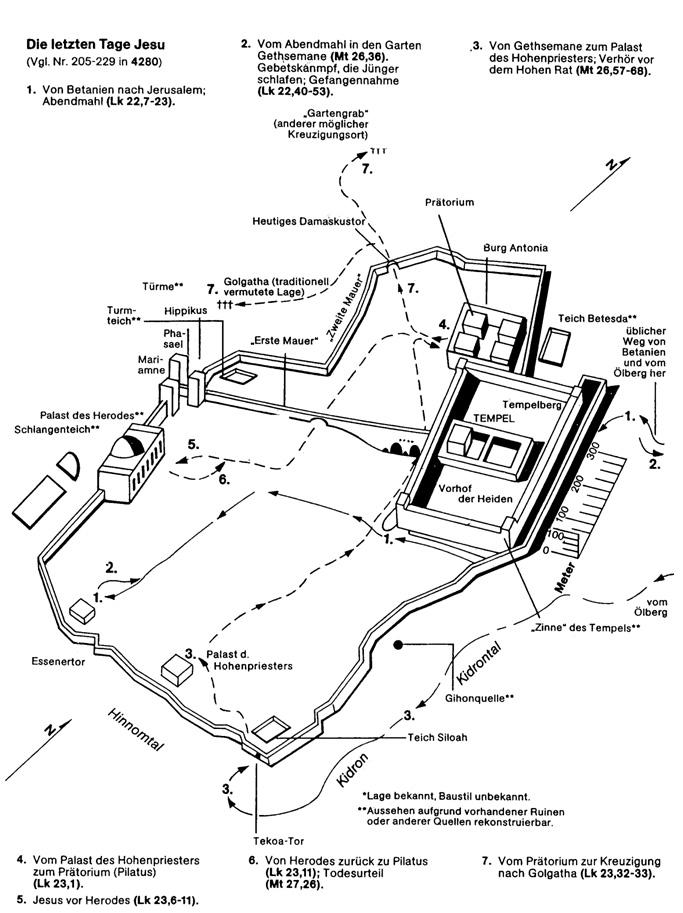 Jerusalem-Karte