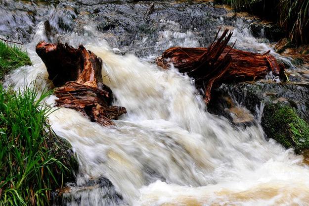 Wasser-Strom