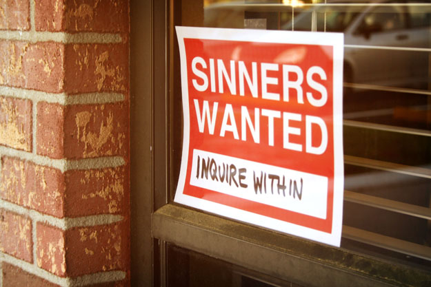 sinners-wanted