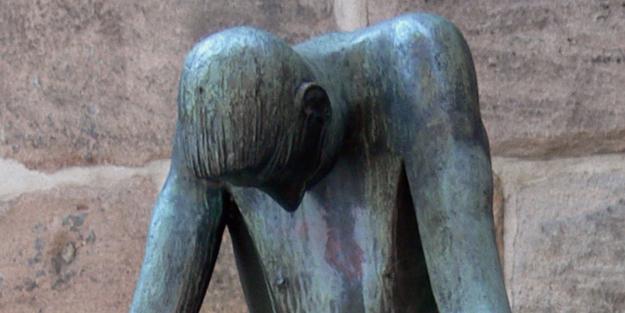 Hiob-Statue