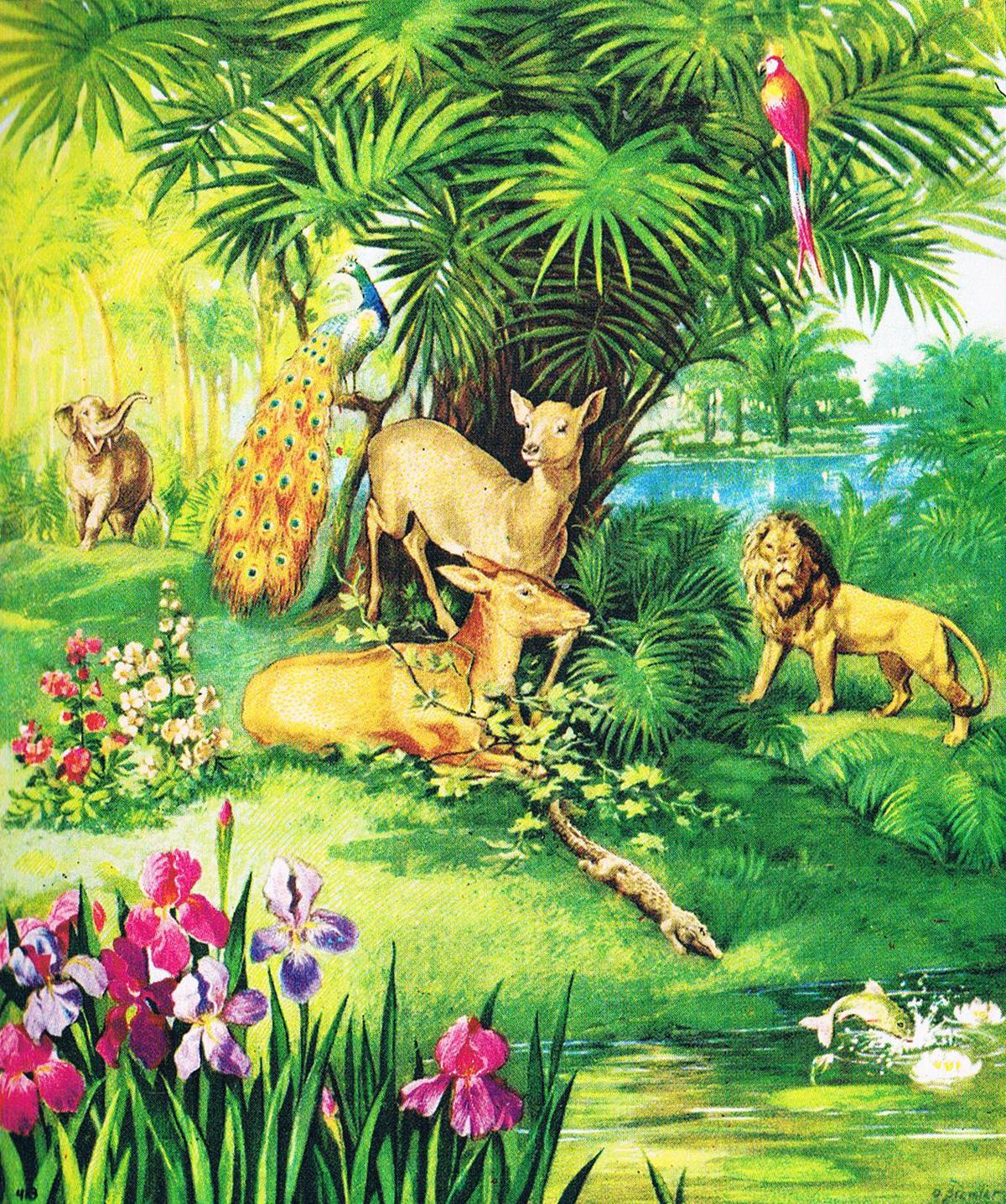 Das Paradies Im Garten Eden