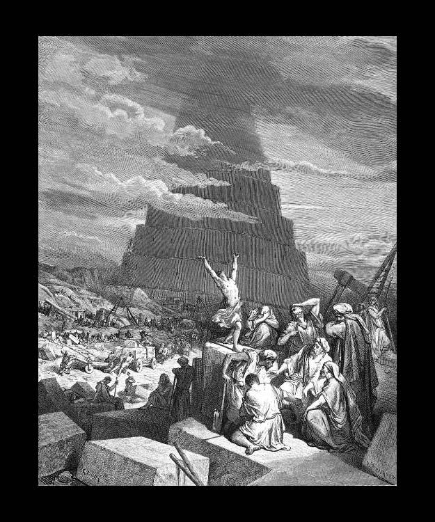 Turmbau zu Babel: Kein Turmbau, sondern Gemeinde | Zeltmacher